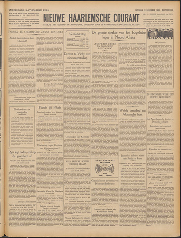 Nieuwe Haarlemsche Courant 1940-12-21