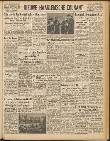 Nieuwe Haarlemsche Courant 1947-12-22