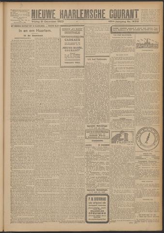 Nieuwe Haarlemsche Courant 1923-12-21