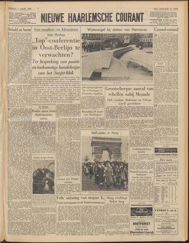 Nieuwe Haarlemsche Courant 1959-03-07