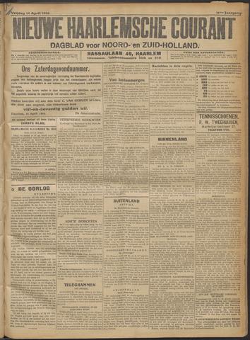 Nieuwe Haarlemsche Courant 1916-04-14