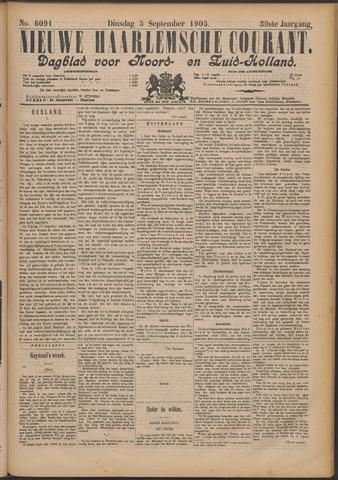 Nieuwe Haarlemsche Courant 1905-09-05