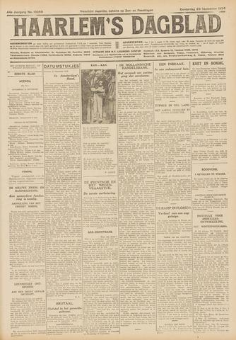 Haarlem's Dagblad 1926-09-23