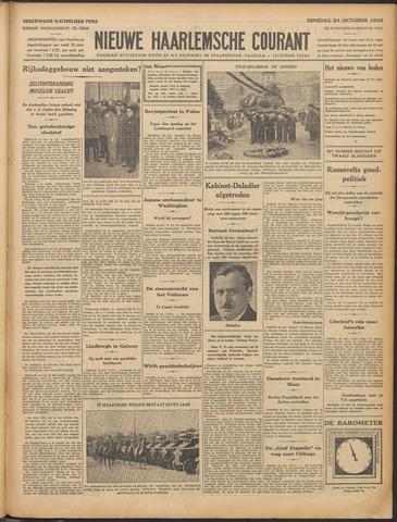 Nieuwe Haarlemsche Courant 1933-10-24