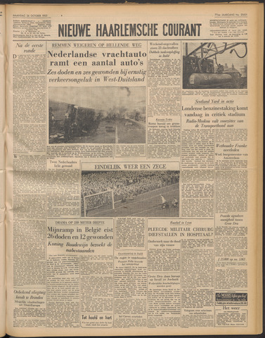 Nieuwe Haarlemsche Courant 1953-10-26