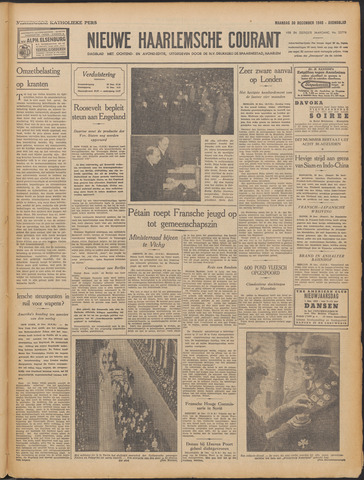 Nieuwe Haarlemsche Courant 1940-12-30