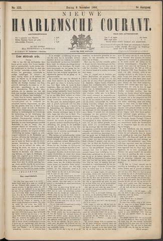 Nieuwe Haarlemsche Courant 1881-11-06