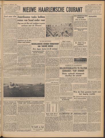 Nieuwe Haarlemsche Courant 1951-02-09
