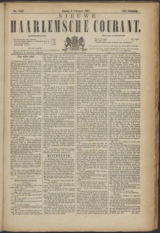 Nieuwe Haarlemsche Courant 1891-02-08