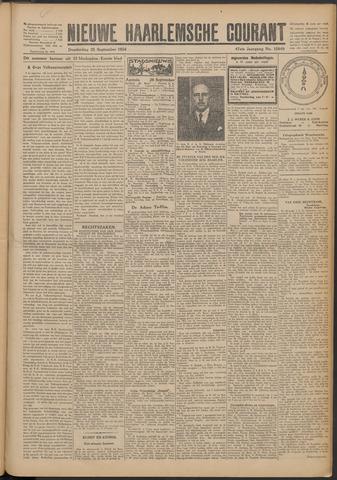 Nieuwe Haarlemsche Courant 1924-09-25