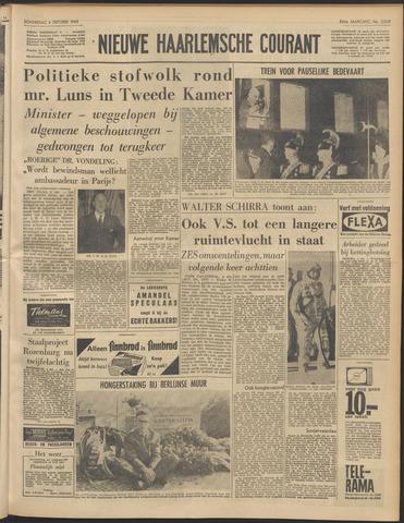 Nieuwe Haarlemsche Courant 1962-10-04