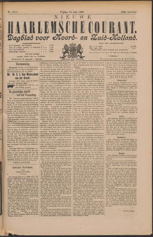 Nieuwe Haarlemsche Courant 1898-06-24