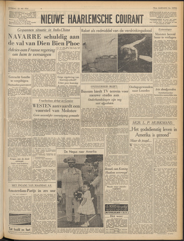 Nieuwe Haarlemsche Courant 1954-05-22
