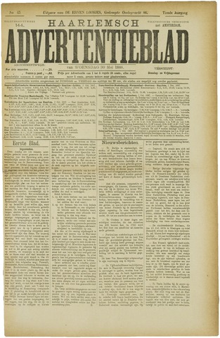 Haarlemsch Advertentieblad 1888-05-30