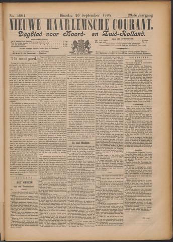 Nieuwe Haarlemsche Courant 1904-09-20