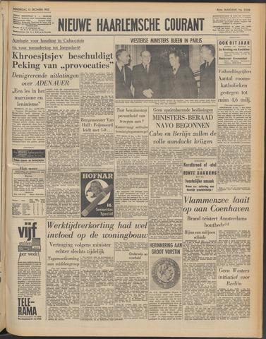 Nieuwe Haarlemsche Courant 1962-12-13