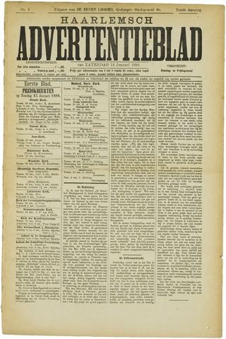 Haarlemsch Advertentieblad 1888-01-14