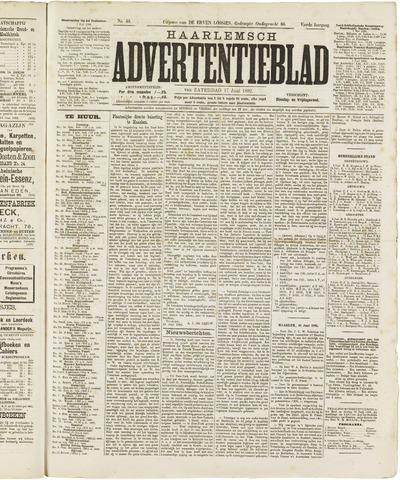 Haarlemsch Advertentieblad 1882-06-17