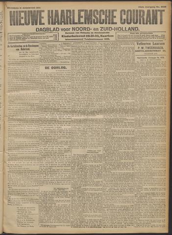 Nieuwe Haarlemsche Courant 1914-08-31
