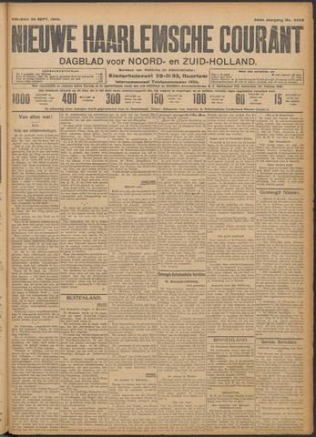 Nieuwe Haarlemsche Courant 1909-09-24