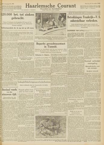 Haarlemsche Courant 1942-11-21