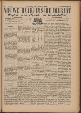 Nieuwe Haarlemsche Courant 1905-01-16