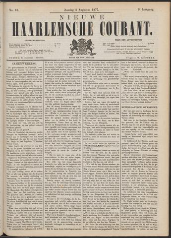 Nieuwe Haarlemsche Courant 1877-08-05