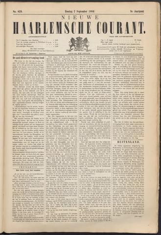 Nieuwe Haarlemsche Courant 1884-09-07