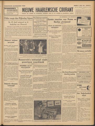 Nieuwe Haarlemsche Courant 1939-04-17