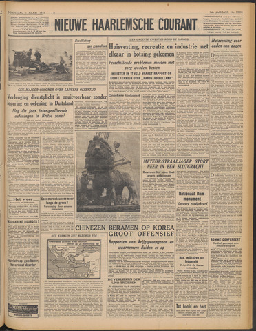 Nieuwe Haarlemsche Courant 1951-03-01
