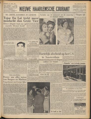 Nieuwe Haarlemsche Courant 1954-04-29