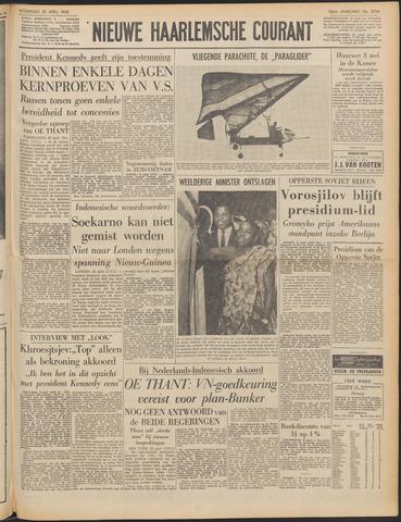 Nieuwe Haarlemsche Courant 1962-04-25