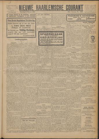 Nieuwe Haarlemsche Courant 1924-02-02
