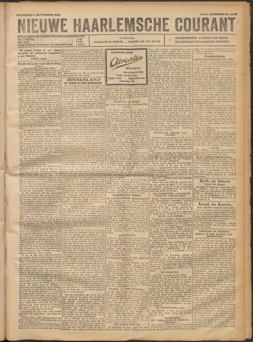 Nieuwe Haarlemsche Courant 1920-09-11