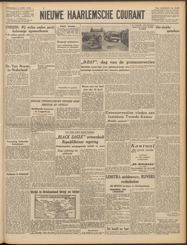 Nieuwe Haarlemsche Courant 1949-04-06