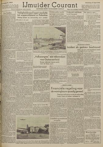 IJmuider Courant 1948-04-15