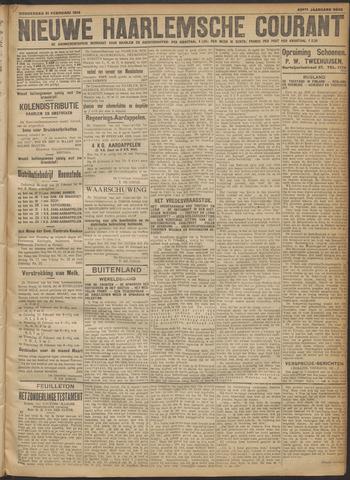 Nieuwe Haarlemsche Courant 1918-02-21