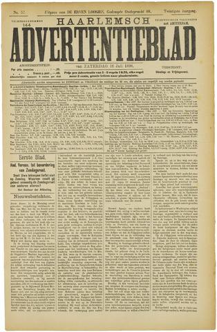 Haarlemsch Advertentieblad 1898-07-16