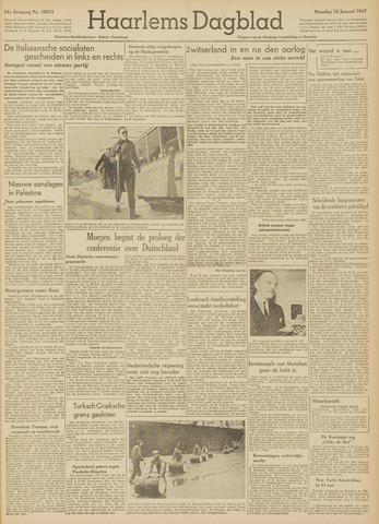 Haarlem's Dagblad 1947-01-13
