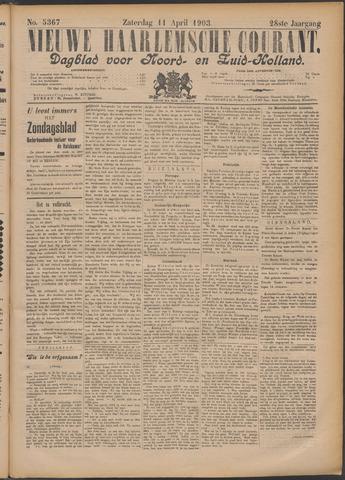 Nieuwe Haarlemsche Courant 1903-04-11