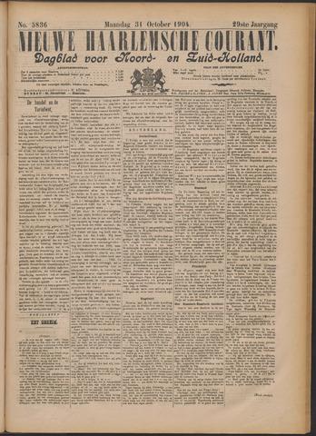 Nieuwe Haarlemsche Courant 1904-10-31