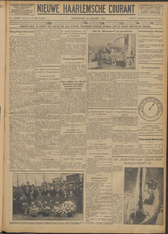 Nieuwe Haarlemsche Courant 1929-03-20