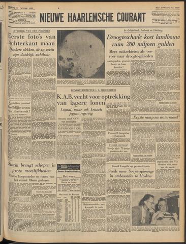 Nieuwe Haarlemsche Courant 1959-10-27