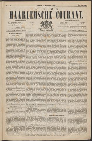 Nieuwe Haarlemsche Courant 1880-11-07