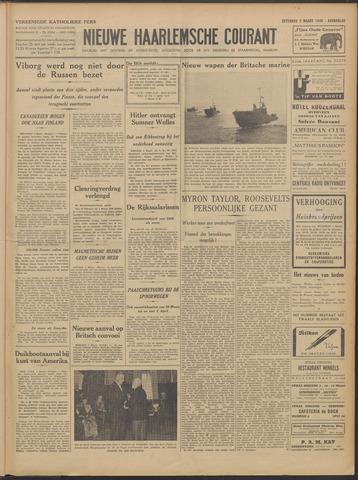 Nieuwe Haarlemsche Courant 1940-03-02