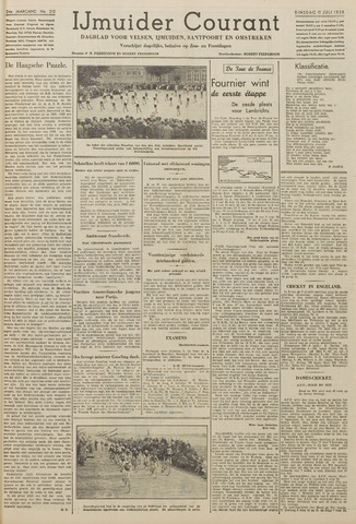 IJmuider Courant 1939-07-11