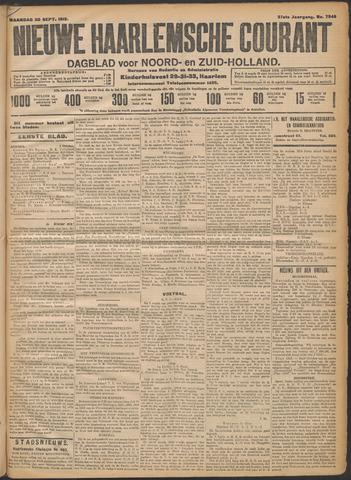 Nieuwe Haarlemsche Courant 1912-09-30