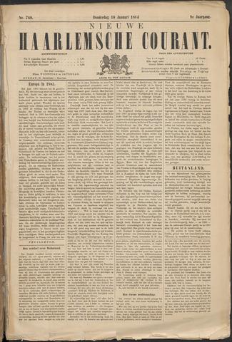 Nieuwe Haarlemsche Courant 1884-01-10