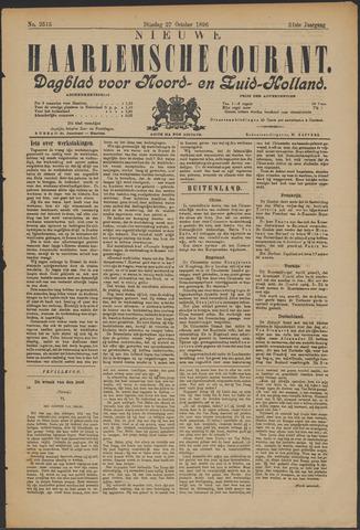 Nieuwe Haarlemsche Courant 1896-10-27