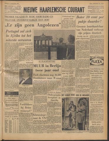 Nieuwe Haarlemsche Courant 1963-08-13